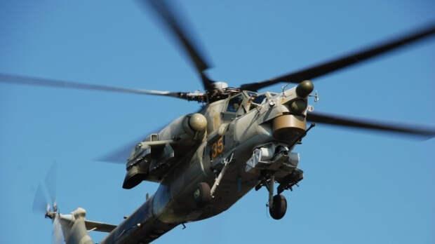 Вертолет Ми-28НМ оснастили ракетным оружием нового поколения