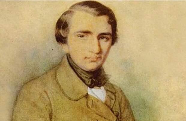 Молодой Тургенев.
