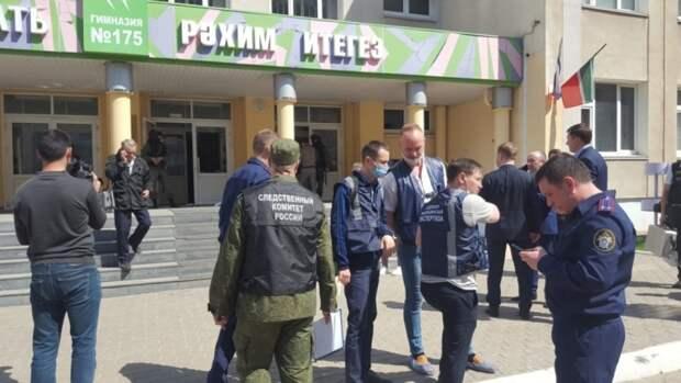 Казанский стрелок пытался прорваться в закрытые классы