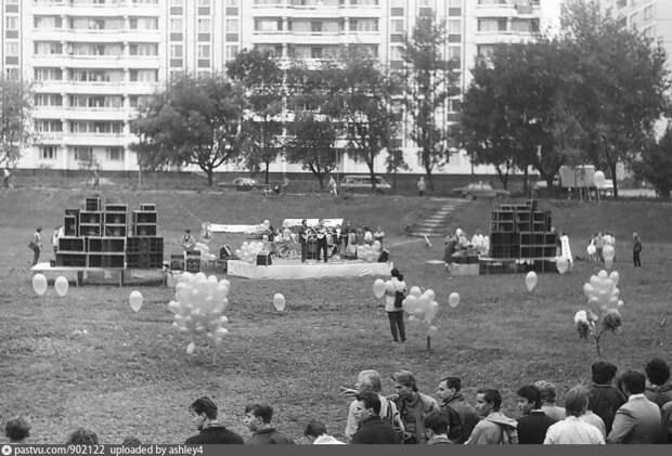 Концерт в Яме,1989 / Фото: pastvu.com