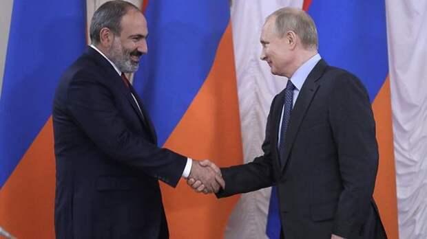 Пашинян: Отношения между Арменией иРоссией нормальные ирабочие