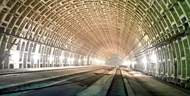 Строящаяся станция «Марьина роща» БКЛ метро готова на 80% – Бочкарев