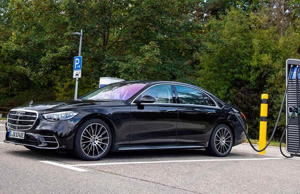 Представлен новый подзаряжаемый Mercedes S-Class