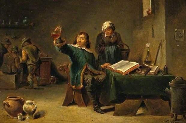 Алхимия - тайная наука преобразования человека и веществ
