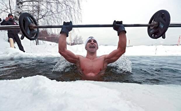 Неожиданные результаты исследований зимнего купания