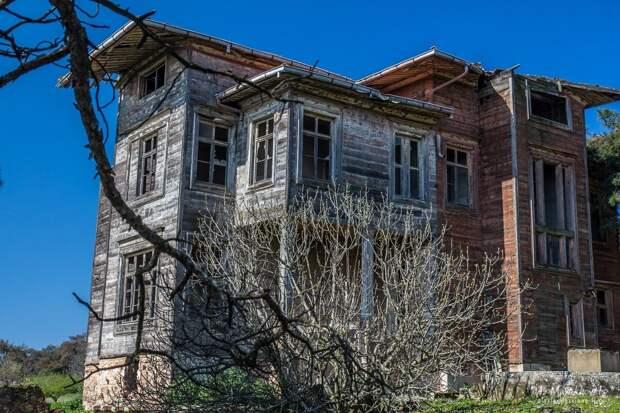 Самый большой деревянный дом в Европе. Попасть внутрь практически невозможно