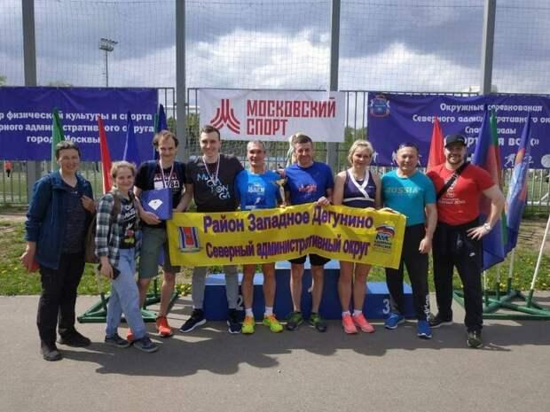 Сборная Западного Дегунина завоевала «серебро» в соревнованиях по кроссовому бегу