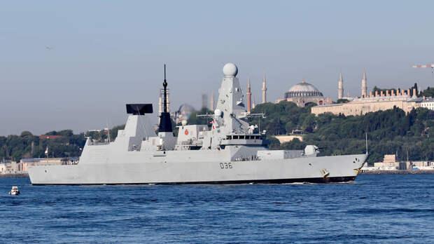 Россия и Британия сыграли в морской бой