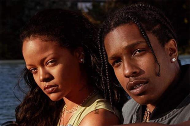 Рэпер A$AP Rocky подтвердил роман с Рианной