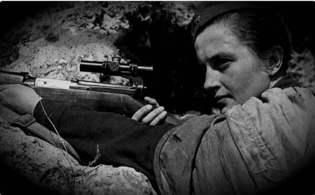 Немцы побоялись докладывать о двухчасовом позорном бое с русской девушкой