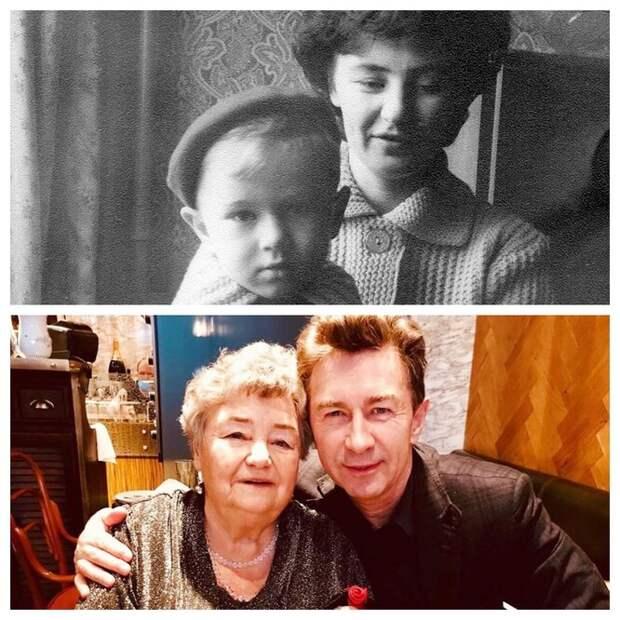 Фото российских актёров с мамами