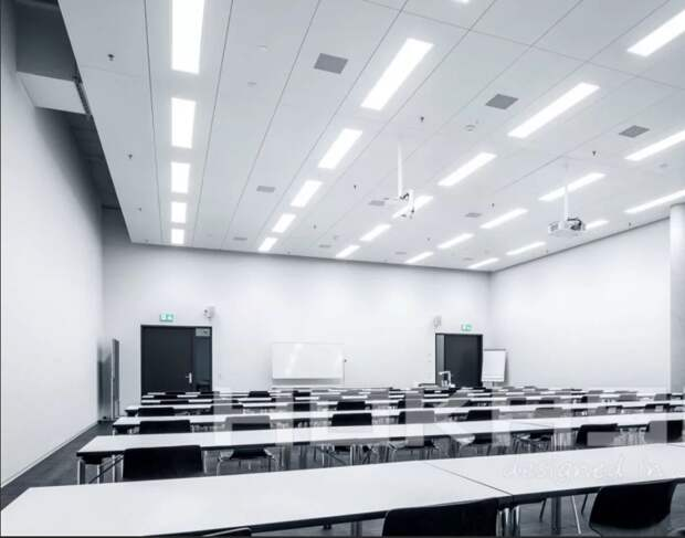 Офисное потолочное освещение