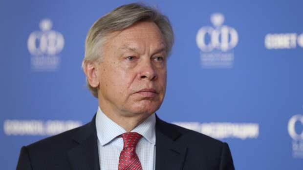 Пушков заявил, что США воспринимают саммит Байдена и Путина как «политическую дуэль»