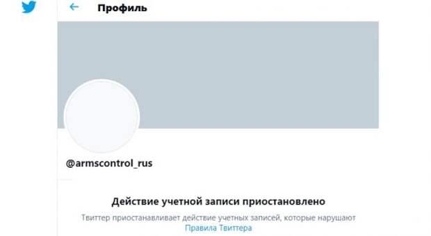 Twitter заблокировал страницу российской делегации напереговорах вВене