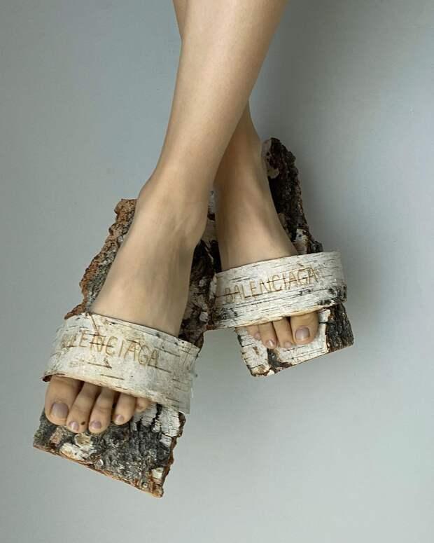 Создательница тех самых балеток Chanel из кабачков, художница Екатерина Шукшина — о том, как объединить моду и овощи