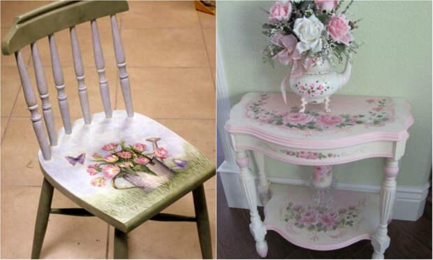 как отреставрировать мебель своими руками