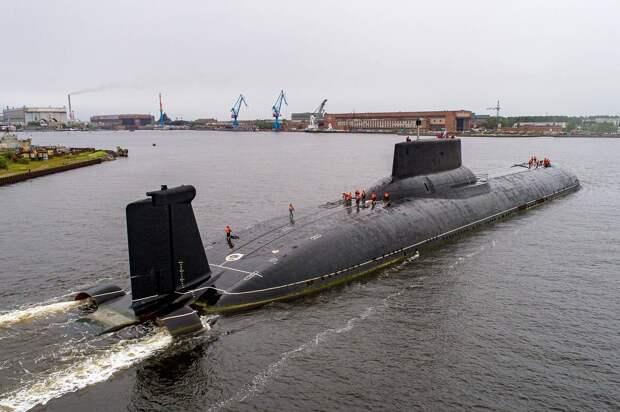 В США составили рейтинг лучших подводных лодок России