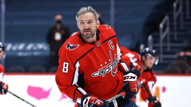 Овечкин вышел на третье место по очкам в плей-офф НХЛ среди левых нападающих