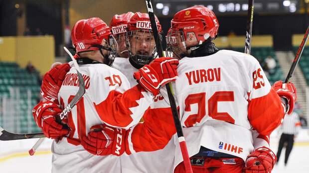 Сборная России объявила состав на финал юниорского ЧМ-2021 против Канады