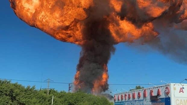 Экс-сотрудник АЗС в Новосибирске рассказал о возможных причинах взрыва