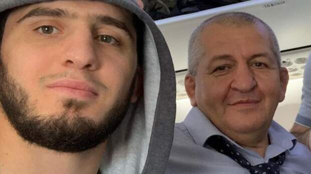 «Нас по-другому воспитали». Махачев опубликовал пост с отцом Хабиба после слов Чимаева