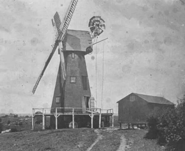 деревня Плакли Англия мельница