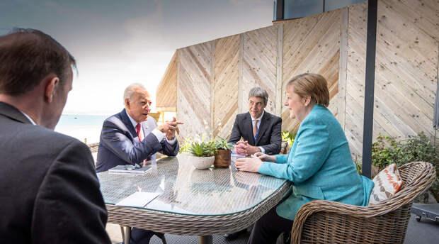 Лидеры двух крупнейших западных держав переговорили на полях саммита G7