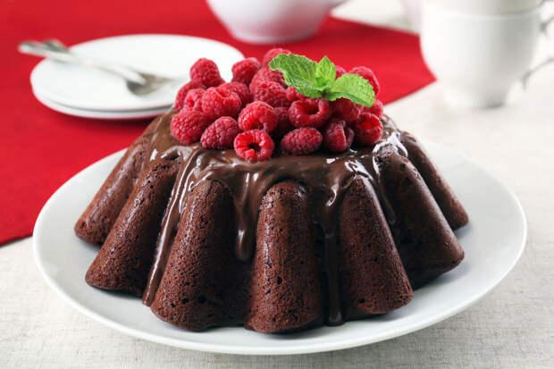Рецепт дня: малиновый кекс с лаймом