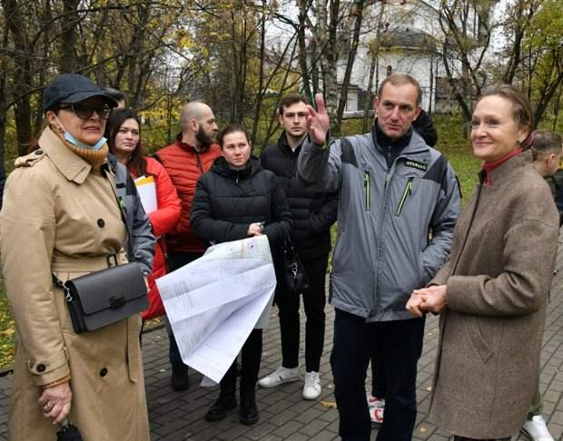 На Белозерской оборудуют новые детские и спортивные площадки