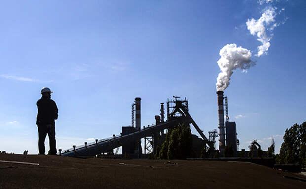 Промышленное производство в России упало впервые за четыре месяца