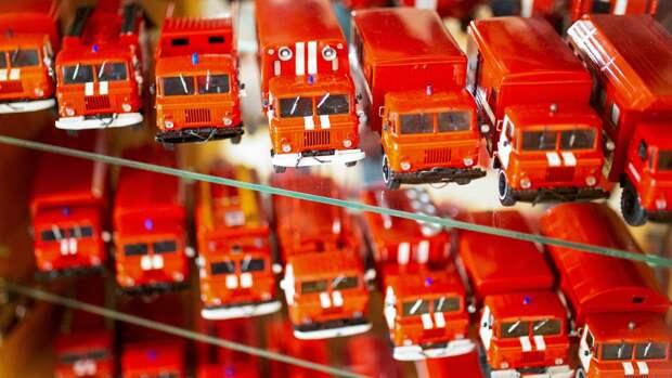 Коллекционер пожарной техники из Бийска поделился историей своего хобби