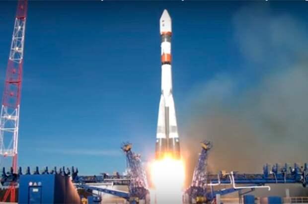 Ракета «Союз-2.1б» с 36 спутниками OneWeb стартовала с космодрома Восточный