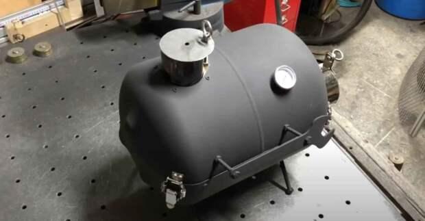 Походная печка из фреонового баллона (можно сделать без сварки)