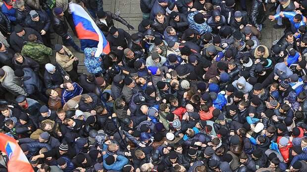 Россияне сняли с себя ответственность за страну