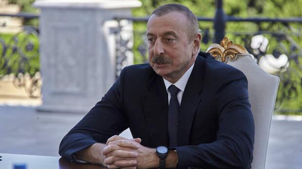 """""""Готовы остановиться сегодня же"""": Алиев поставил условие по Карабаху"""