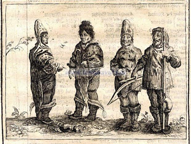 1656 год, Гренландцы