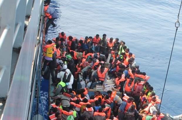 С начала года в Средиземном море утонули 500 мигрантов