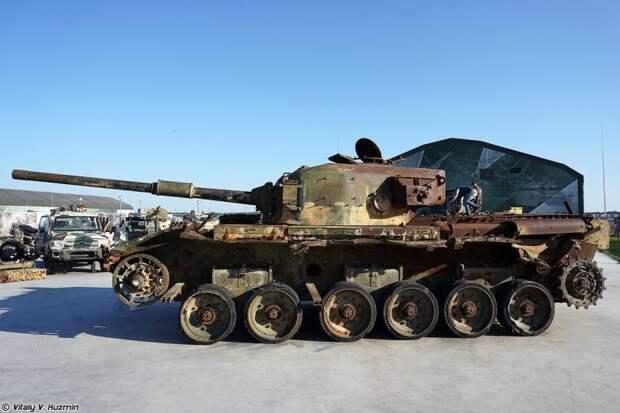 Пленные «Центурионы»: британская броня в Кубинке