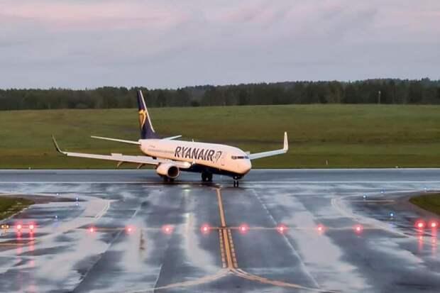 В Польше рассказали о расследовании инцидента с самолётом Ryanair