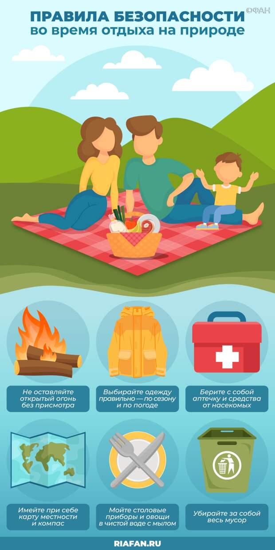 Пожарный эксперт назвал главные правила безопасного отдыха в лесу