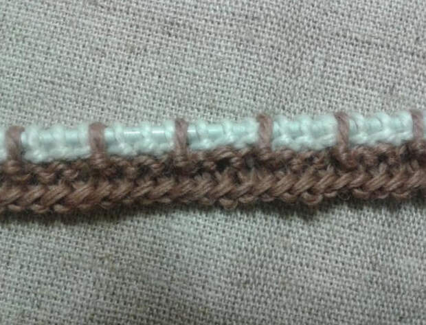 Вязание спицами: Ленивый узор