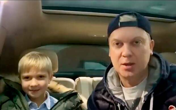 «Ушатаем шотландцев!» Светлаков вместе с6-летним сыном записал видео вподдержку сборной России