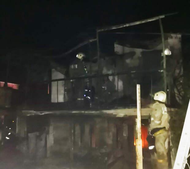 Тело погибшей женщины обнаружено в сгоревшем доме в Севастополе