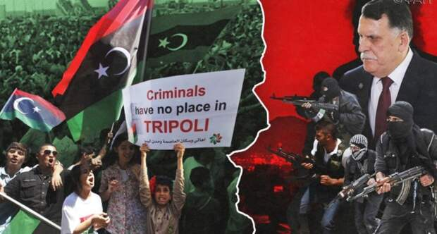 Ливийцы по всей стране протестуют против произвола властей ПНС