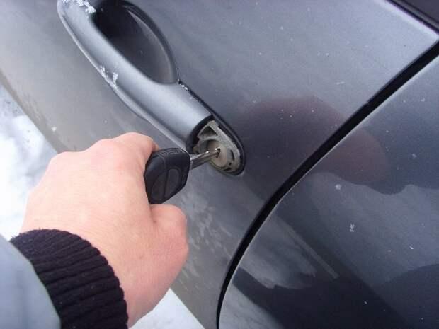 Почему машину лучше всего закрывать ключом