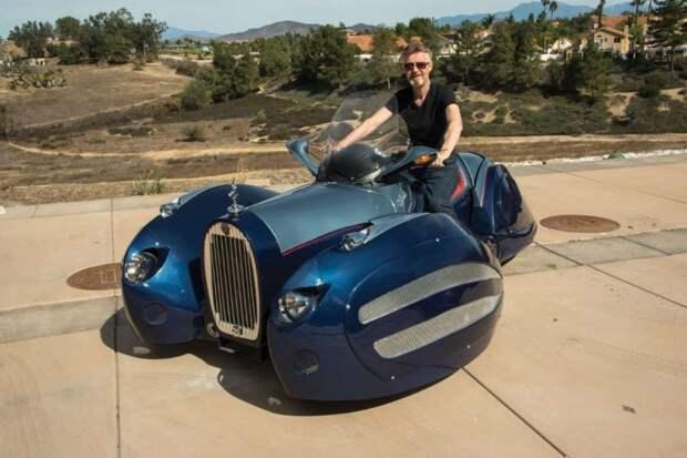 Неможешь купить — построй сам! Автомобиль склассическим французским дизайном