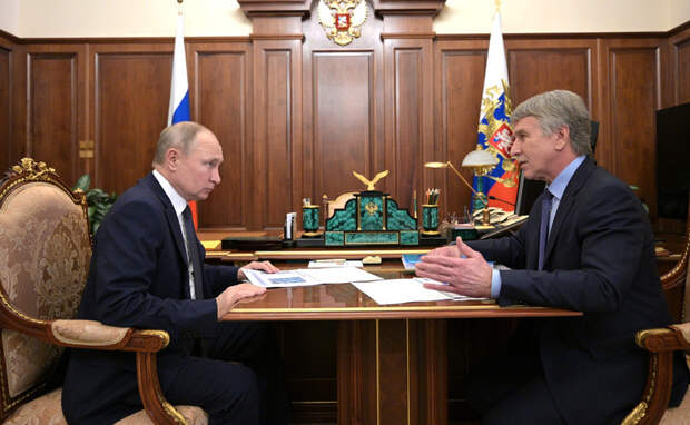Путин поддержал главного конкурента «Газпрома»