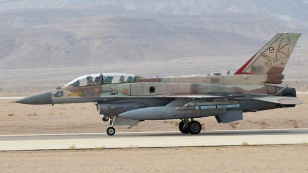 Истребители ВВС Израиля  уничтожили объект военной разведки ХАМАС