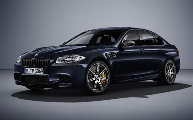 BMW M5 не прощается, но говорит до свидания