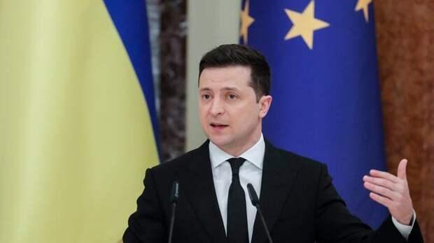 Еврей Зеленский очень торопится впихнуть Украину в НАТО, пока украинцы не опомнились
